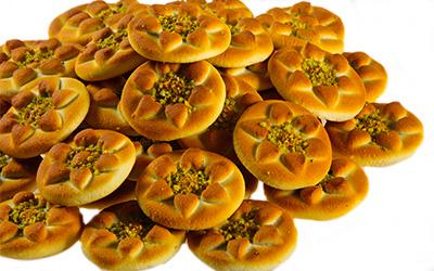 نان خرمایی پسته ای